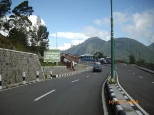 di Cemoro Sewu perbatasan jateng jatim at punggung Lawu